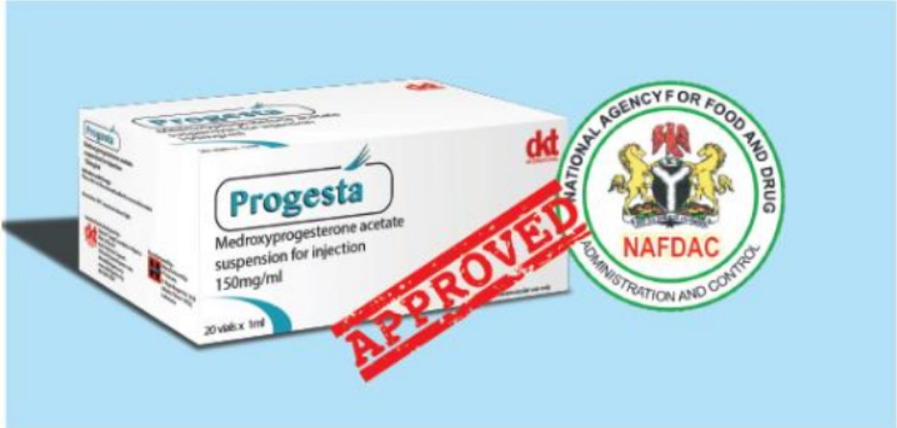 The National Agency for Food and Drug Administration and Control (NAFDAC) recently approved PROGESTA for marketing in Nigeria!