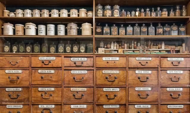Pharmacy then & now..