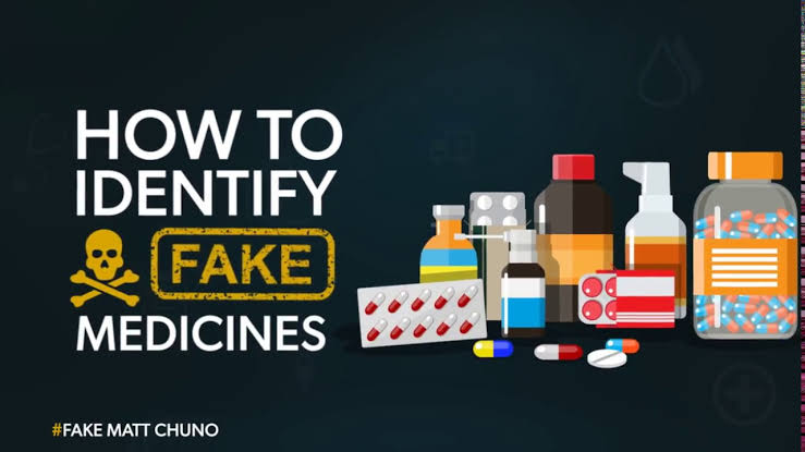 How to spot a counterfeit medicine.