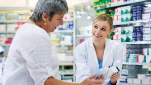 How can the pharmacist help you?