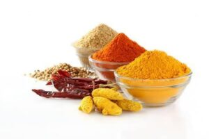 Spices with health benefits-
